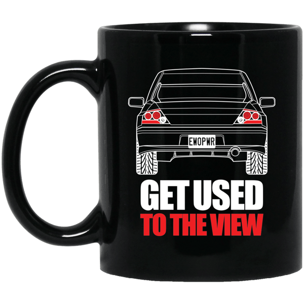 Evo 11 oz. Black Mug