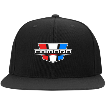 Camaro SS RS ZL1 Flat Bill High-Profile Snapback Hat