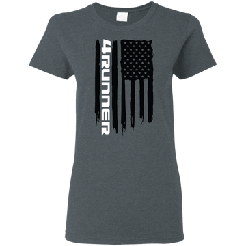 Toyota 4Runner TRD Limited SR5 Trail Edition American Flag Ladies' T-Shirt