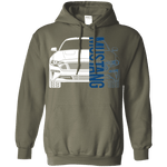 S550 Mustang Debadged Double Sided (18-Current)  Hoodie