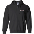 Ford Raptor F-150  Gildan Zip Up Hooded SweatshirtEcoboost 3.5 6.2
