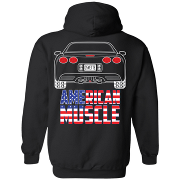 C5 Chevy Corvette American Muscle Pullover Hoodie