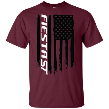Ford Fiesta ST Ecoboost Flag T-Shirt