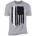 Youth Foxbody Mustang American Flag Boys' Cotton T-Shirt