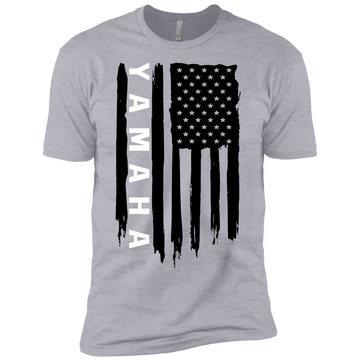 Youth Yamaha American Flag Boys' Cotton T-Shirt