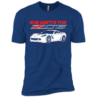She Wants The Z06 Short Sleeve T-Shirt