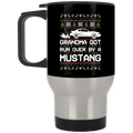 Wheel Spin Addict Mustang SN95 Christmas Stainless Travel Mug