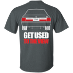 Notchback Mustang Double Sided T-Shirt