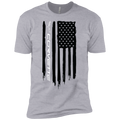 Youth Corvette American Flag Boys' Cotton T-Shirt