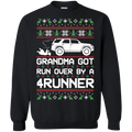 Toyota 4Runner Ugly Christmas Grandma Got Run Over Crewneck Sweatshirt