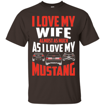 I Love My Mustang T-Shirt