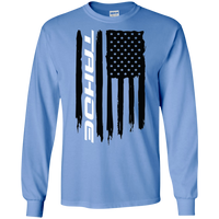 Chevy Tahoe American Flag T-Shirt Long Sleeve