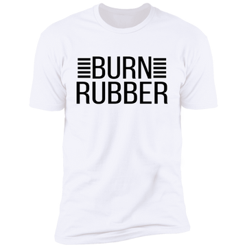 Burn Rubber Racing Boosted American Muscle Premium Short Sleeve T-Shirt
