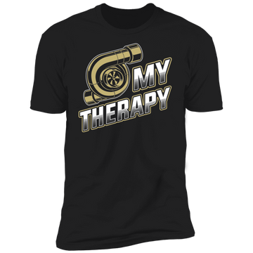Turbo is My Therapy Boosted Gapped Premium Short Sleeve T-Shirt