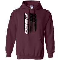 Ford F-250 Truck Flag Pullover Hoodie