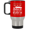 Wheel Spin Addict Evo X Christmas Stainless Travel Mug