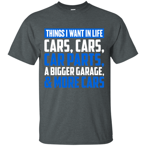 Car Parts/Things I Want in Life T-Shirt