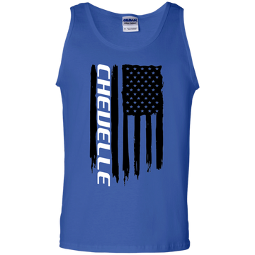 WSA Chevelle American Flag Tank Top