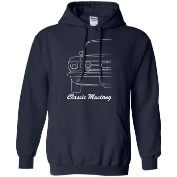 Classic Ford Mustang Pullover Hoodie