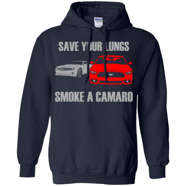 Smoke a Camaro Pullover Hoodie