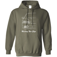 New Edge Ford Mustang Outline Hoodie