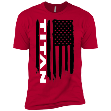 Youth Titan XD Truck American Flag Boys' Cotton T-Shirt