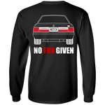 Foxbody Ford Mustang No Fox Given Notch Long Sleeve T-Shirt