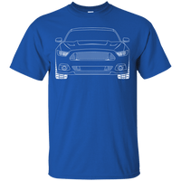 S550 Debadged/Ecoboost Ford Mustang Outline T-Shirt