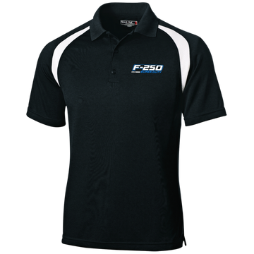 F-250 Super Duty Power Stroke Moisture-Wicking Tag-Free Golf Shirt