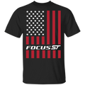 Focus ST FoST American Flag USA T-Shirt