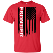 Nissan Frontier American Flag T Shirt