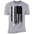 Youth Corvette C4 American Flag Boys' Cotton T-Shirt