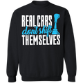 Real Cars Don't Shift Themselves Racing Stick Shift Manual Crewneck Sweatshirt