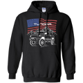 Toyota Tundra Off-Road Overland American Flag Pullover Hoodie