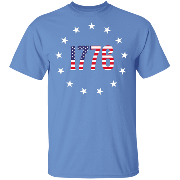 1776 Betsy Ross American Flag T-Shirt