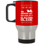 Wheel Spin Addict Electra Glide Christmas Stainless Travel Mug