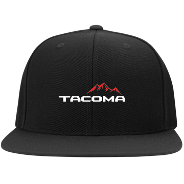 Tacoma TRD SR5 Flat Bill High-Profile Snapback Hat