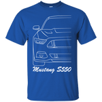 Ford Mustang S550 T-Shirt 2015 2016 2017