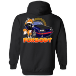 Foxbody Ford Mustang Four Eyes Pullover Hoodie
