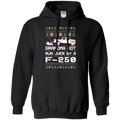 F-250 F-350 Grandma Got Run Over Ugly Christmas Pullover Hoodie