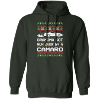 Wheel Spin Addict Men's Ugly Christmas Chevy Camaro 4th Gen Pullover Hoodie