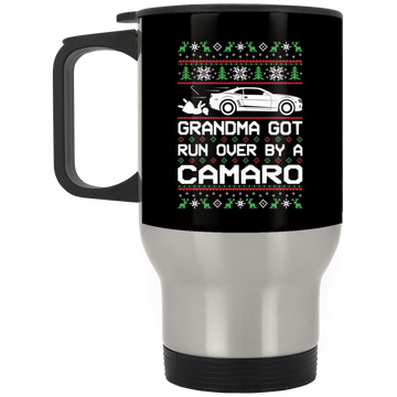 Wheel Spin Addict Camaro SS RS Christmas Stainless Travel Mug