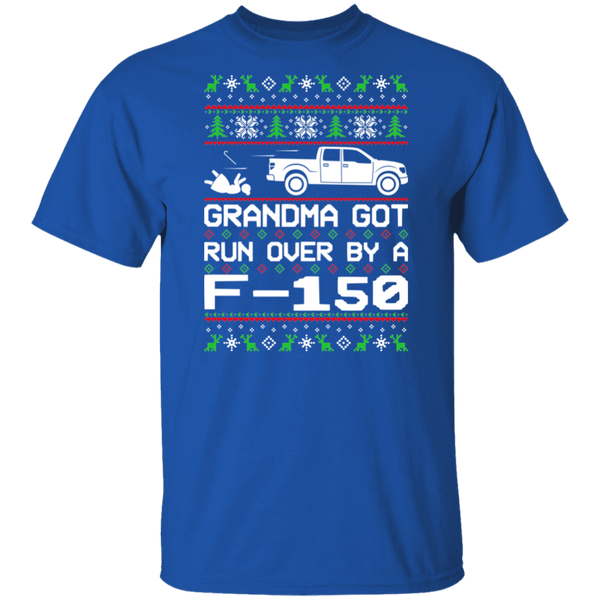 Ford F-150 Grandma Got Run Over Ugly Christmas 2009-2014 T-Shirt