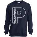 Power Stroke F-250 F-350 Youth Crewneck Sweatshirt