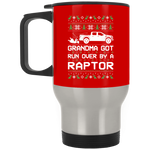 Wheel Spin Addict Raptor Truck F150 Christmas Stainless Travel Mug