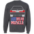 Notchback Ford Mustang Foxbody Pullover Sweatshirt
