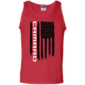 WSA Camaro SS RS American Flag Tank Top
