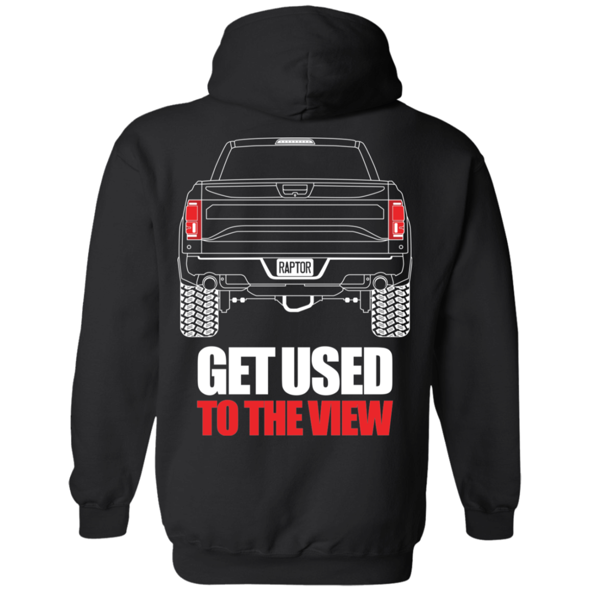 Ford Raptor Ecoboost F 150 2017 2018 2019 Pullover Hoodie