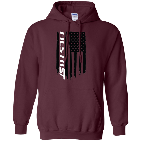 Ford Fiesta ST Ecoboost Flag Pullover Hoodie