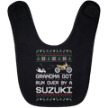 Wheel Spin Addict RM Dirtbike Christmas Baby Bib